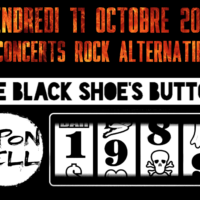 11/10 – THE BLACK SHOE'S BUTTON + 1989 + KIPON HELL (rock alternatif)