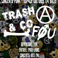 18/10 – TRASH AND CO + FØU (punk)