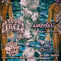 28/02 – LAZERKAAT + GAVIAL HAZE + SHROOMS CIRCLE (heavy doom stoner)