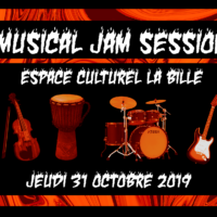 31/10 – HALLOWEEN MUSICAL JAM SESSION
