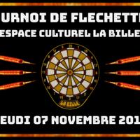 07/11 – TOURNOI DE FLECHETTES