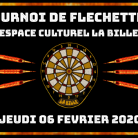 06/02 – TOURNOI DE FLECHETTES