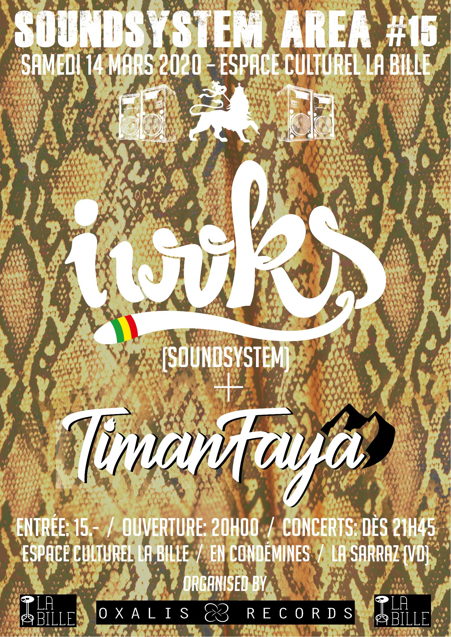 I WOKS + TIMANFAYA + MASTA J SELECTA