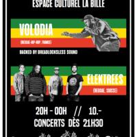 08/03 – Volodia + Elektrees (reggae-hip-hop)