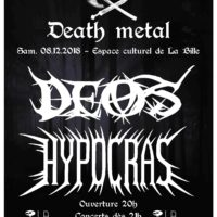 08/12 – DEOS + Hypocras (roman & viking death metal)