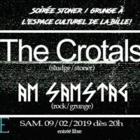 09/02 – Am samstag + The crotals (grunge, stoner & sludge metal, CH)