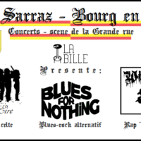 La bille présente: Bol d'Eire + Blues for nothing, Wiz' & Flow – live au Bourg en fête