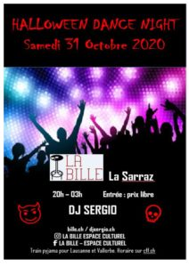 ANNULÉ: Halloween Dance Night
