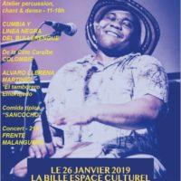 Atelier percussion, chant & danse – le samedi 26 janvier 11-18h