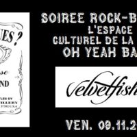 09/11 – Got blues ? + Velvetfish (rock blues, CH)