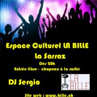 DJ SERGIO (Soirée 3H) – Samedi 09/06