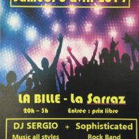 06/04 – DANCE PARTY : DJ SERGIO + SOPHISTICATED